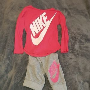 Nike kids outfit size 4-5